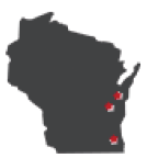 Locations in Wisconsin